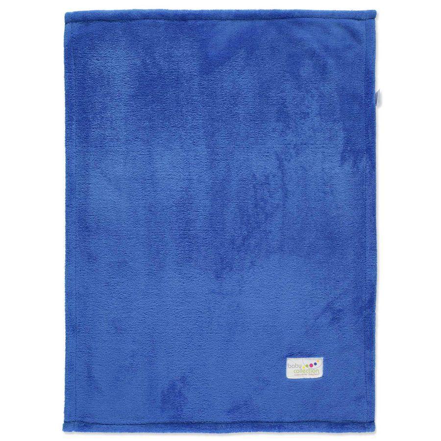 ODENWÄLDER Snuttefilt Microteddy blå