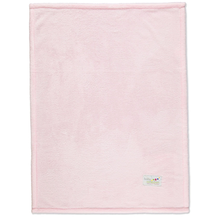 ODENWÄLDER Couverture multifonction Microteddy, rose