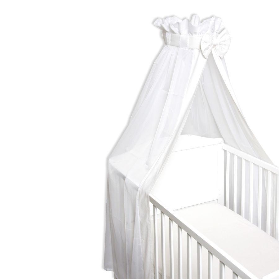 fillikid Ciel de lit enfant basique blanc