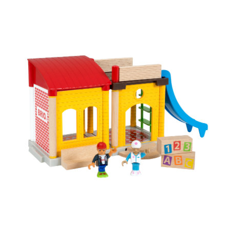 BRIO® WORLD Village Schule 33943