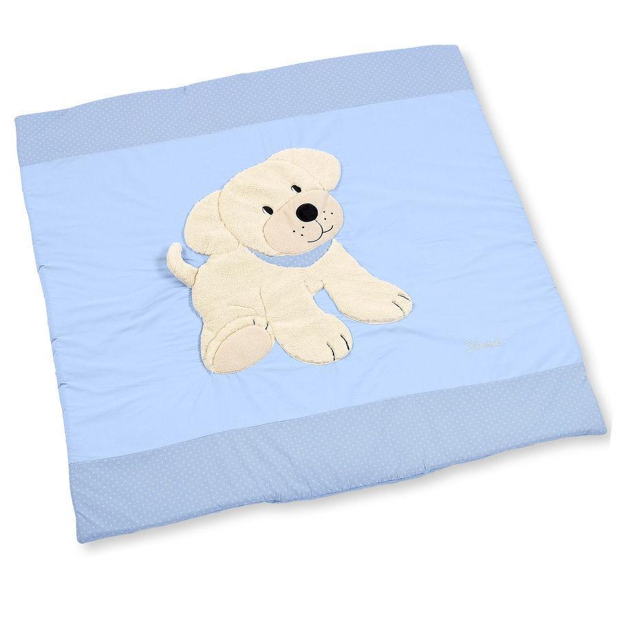 STERNTALER Hrací deka pes Hardy modrá