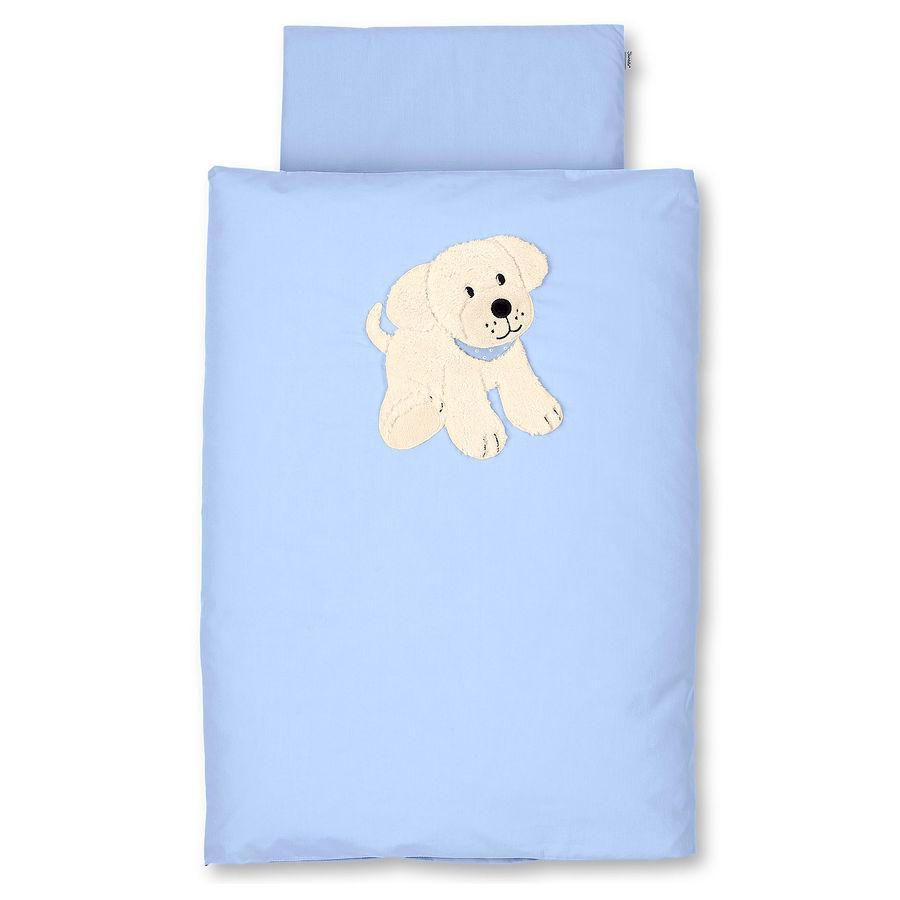 STERNTALER Baby Povlečení pes Hardy modré 80 x 80 cm