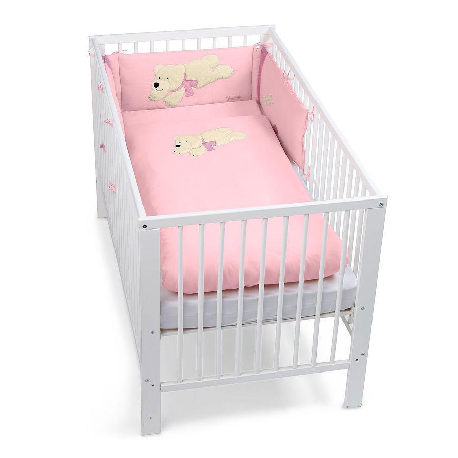Sterntaler Bett-Set Eisbär Ella rosa