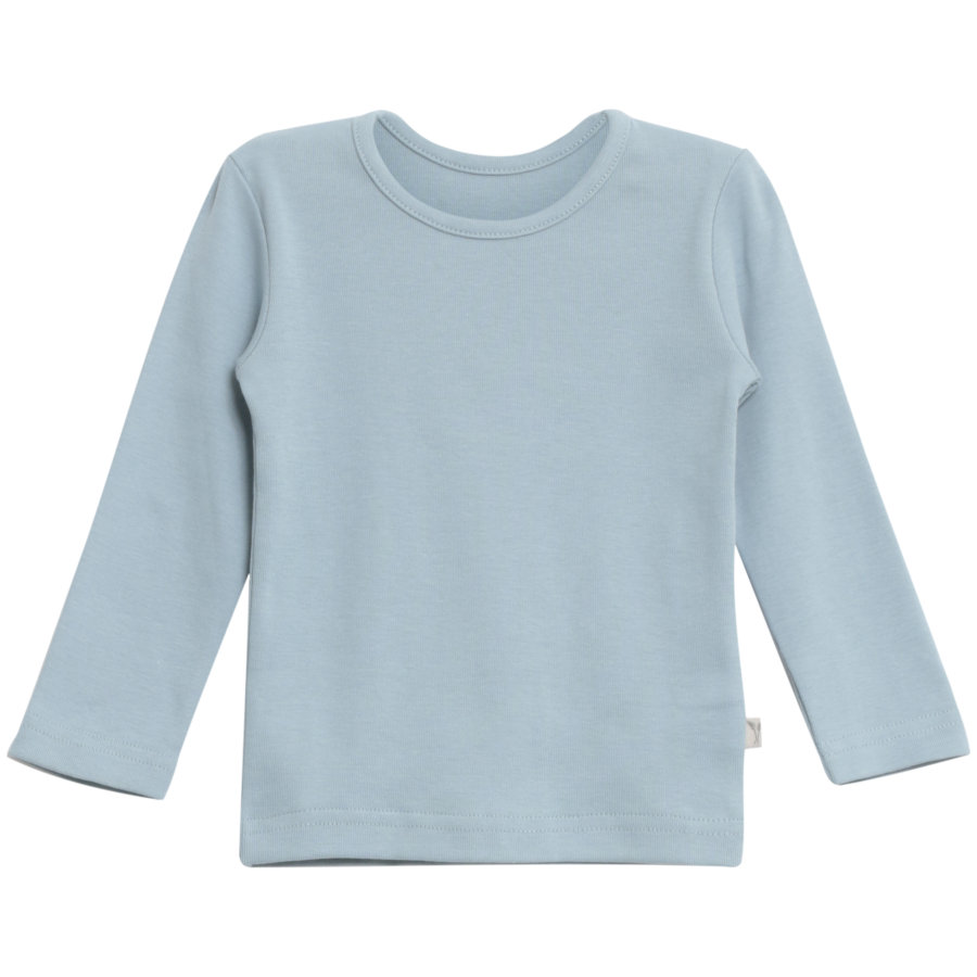 WHEAT Basic Boys Shirt Ashley blu cenere
