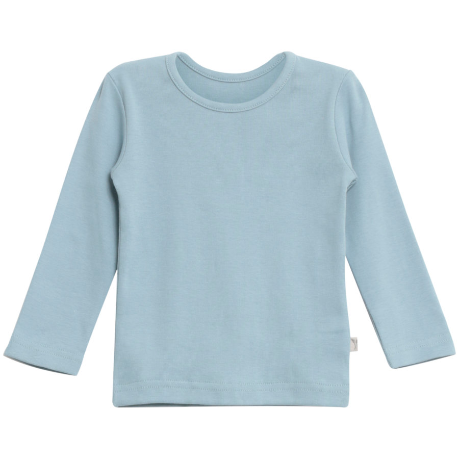 WHEAT Basic Boys Shirt ashley blue