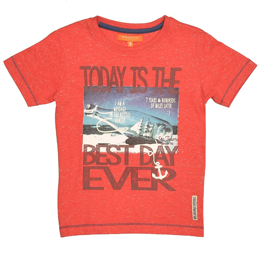 STACCATO Boys Mini T-Shirt bright red structure