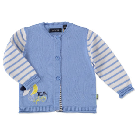 BLUE SEVEN Girls Strickjacke hellblau