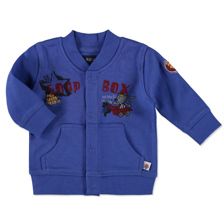 BLUE SEVEN Boys Sweatjacke ocean