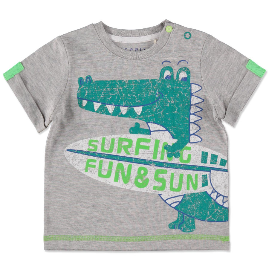 ESPRIT Boys Grigio Dino T-Shirt
