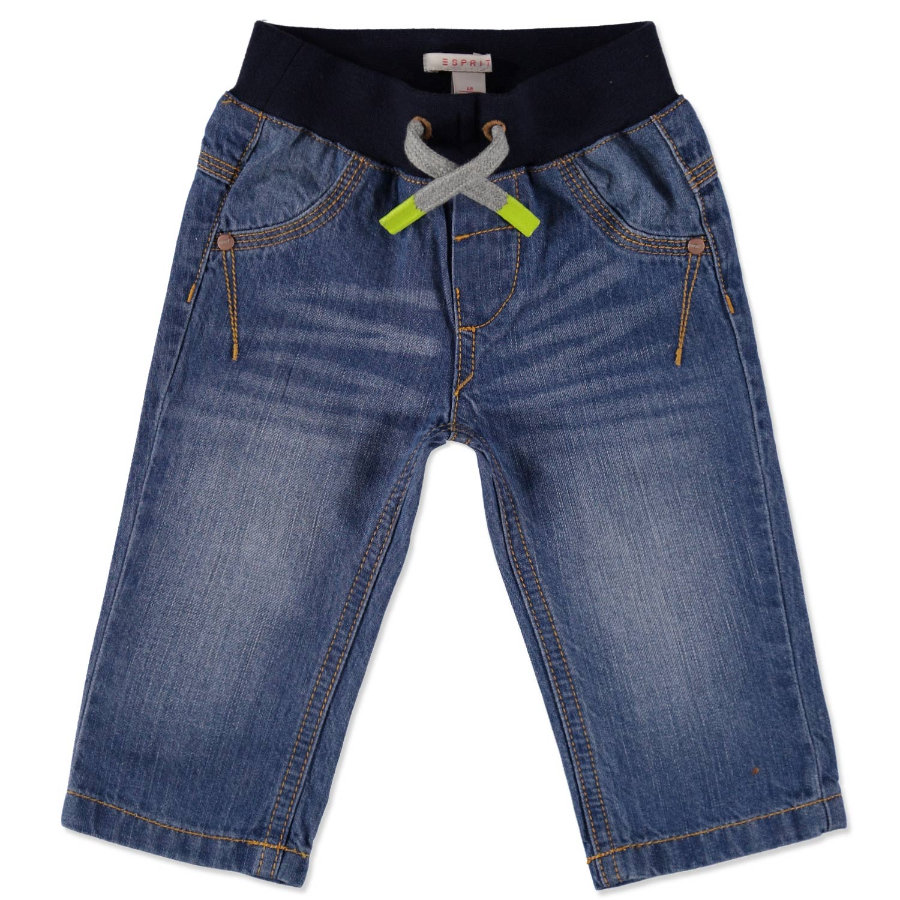 ESPRIT Boys Spodnie Fancy denim blue