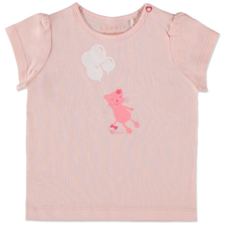 ESPRIT Girls T-Shirt Cat nude