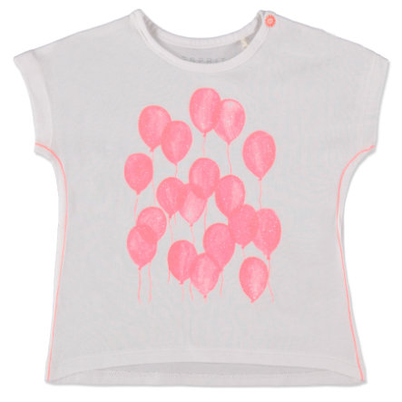 ESPRIT Girls T-Shirt Ballon weiß