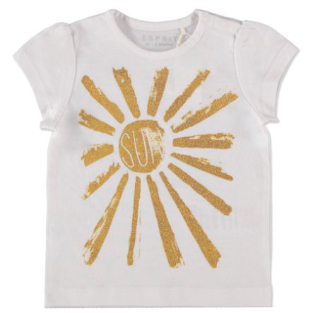 ESPRIT Girl s Blanc T-Shirt soleil