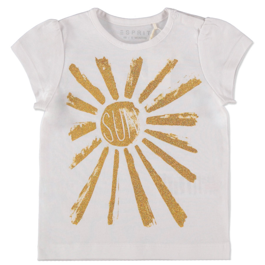 ESPRIT Girls T-Shirt Sun weiß