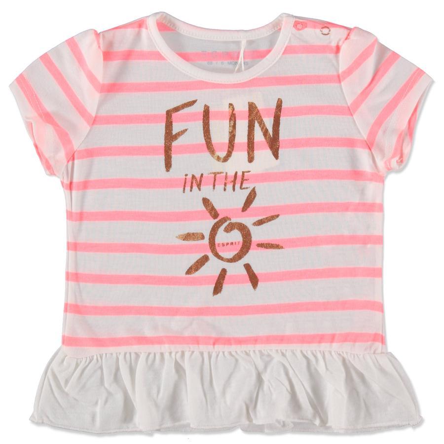ESPRIT Girls T-Shirt Fun weiß