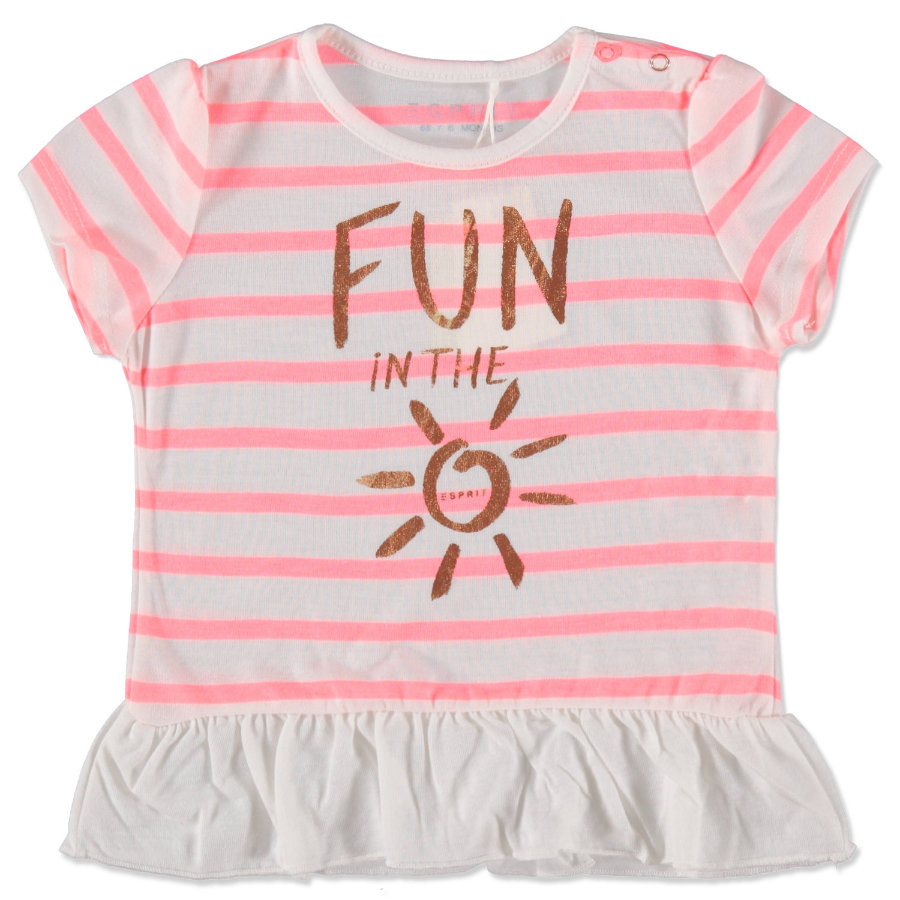 ESPRIT Girls T-Shirt Fun weiß