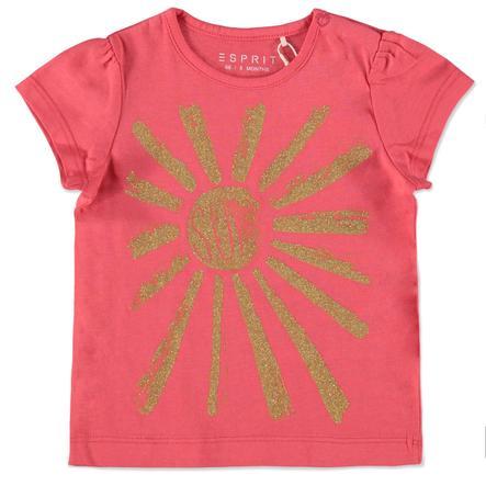 ESPRIT Girl s T-Shirt Rosso corallo sole