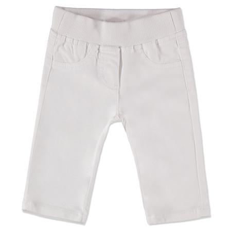 ESPRIT Girl s Pantaloni Basic bianco