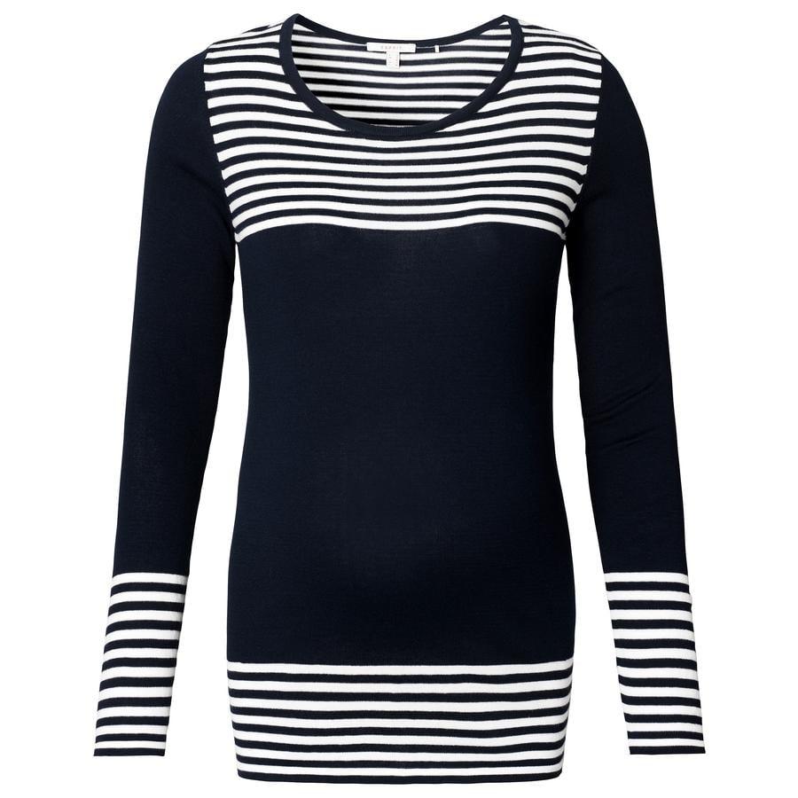 ESPRIT Suéter de Maternidad azul oscuro