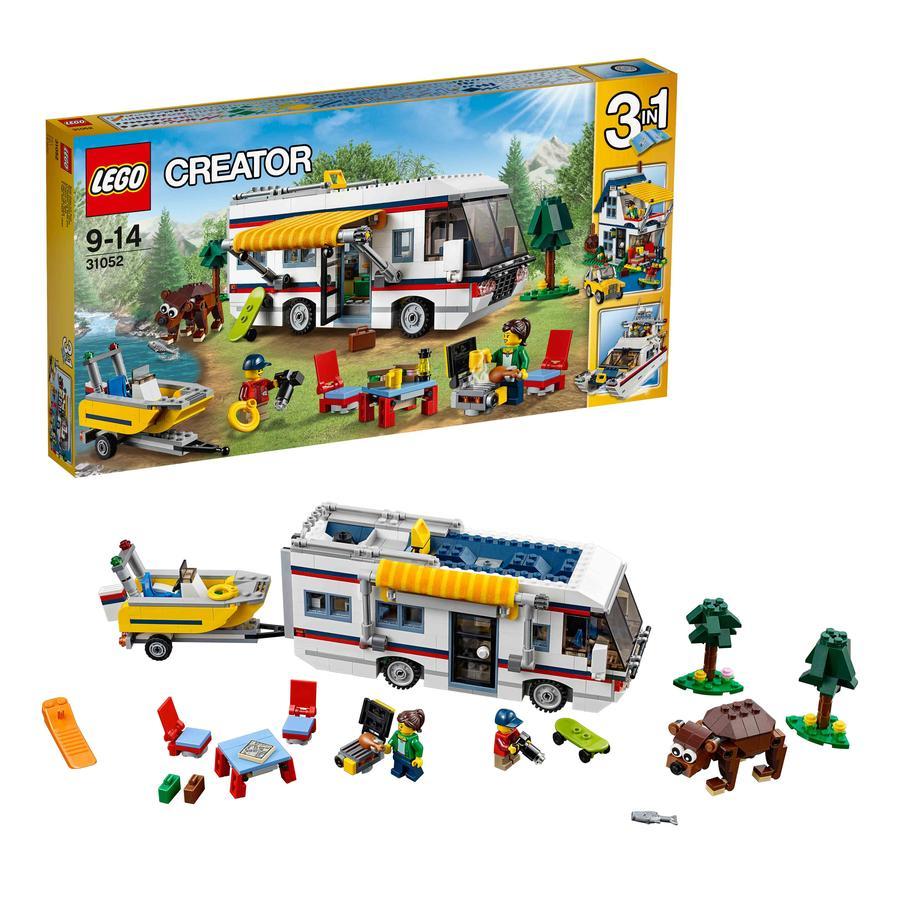 LEGO® Creator Set Costruzioni Vacanza sul Camper 31052