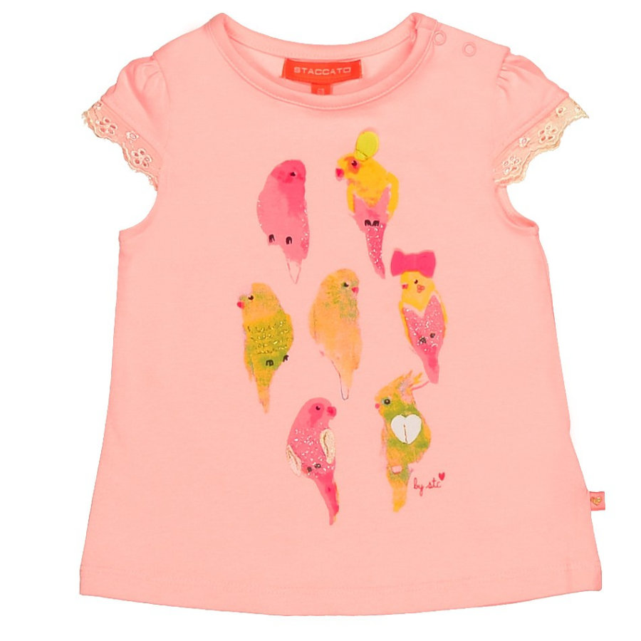 STACCATO Girls Baby T-Shirt shiny rose