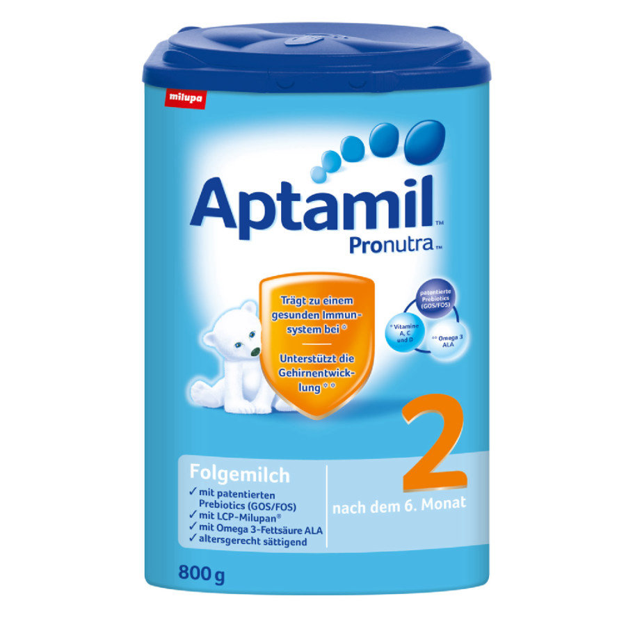 Aptamil 2 Follow-on Formula Pronutra 8 x 800g