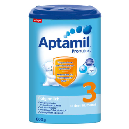 Aptamil 3 Follow-on Formula Pronutra 12 x 800g