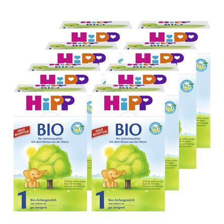 Hipp Bio 1 Infant Formula 8x600g