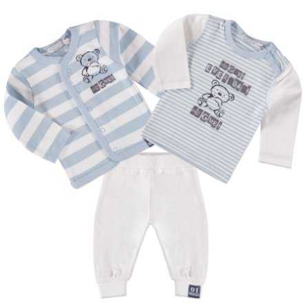 Dirkje Boys Set 3-tlg. large stripe/white