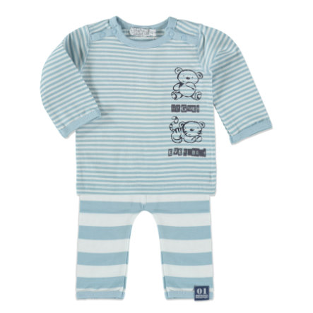 Dirkje Boys Set 2-tlg. small stripe/light blue