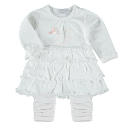 Dirkje Girls Set 2-tlg. white stripe