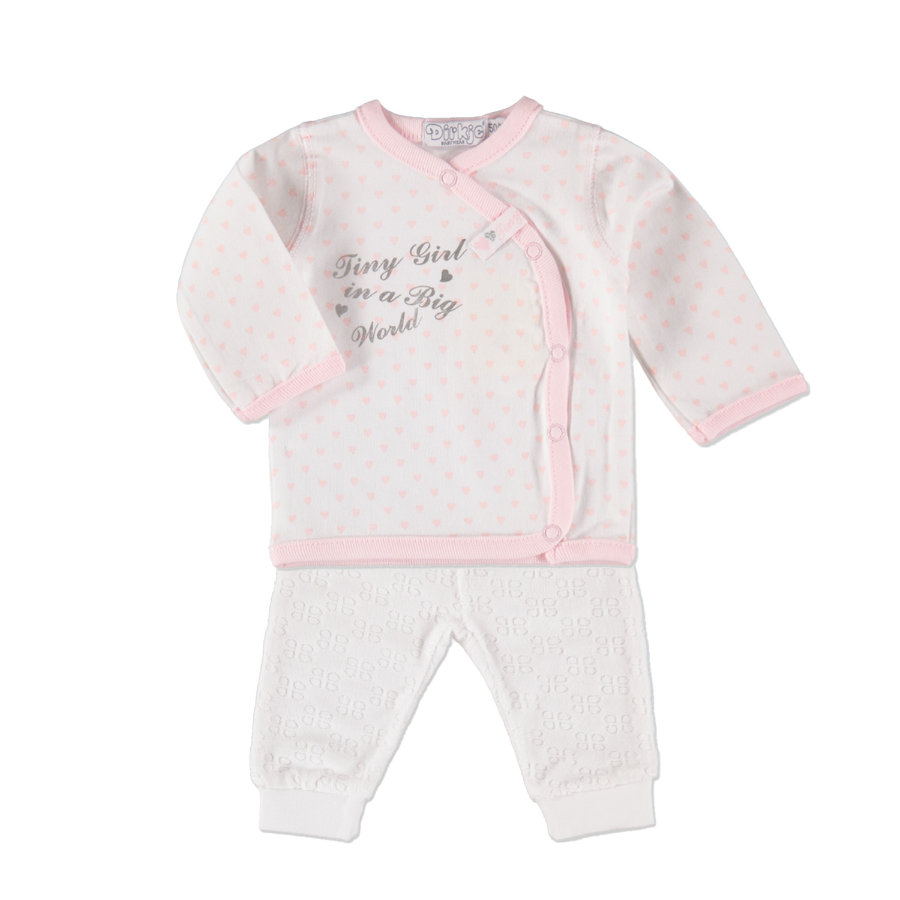 Dirkje Girls Set 2-tlg. white