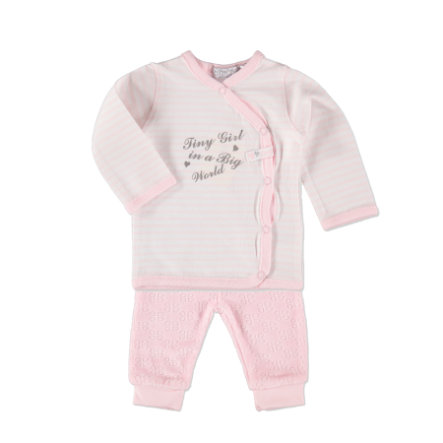 Dirkje Girls Set 2-tlg. stripe light pink