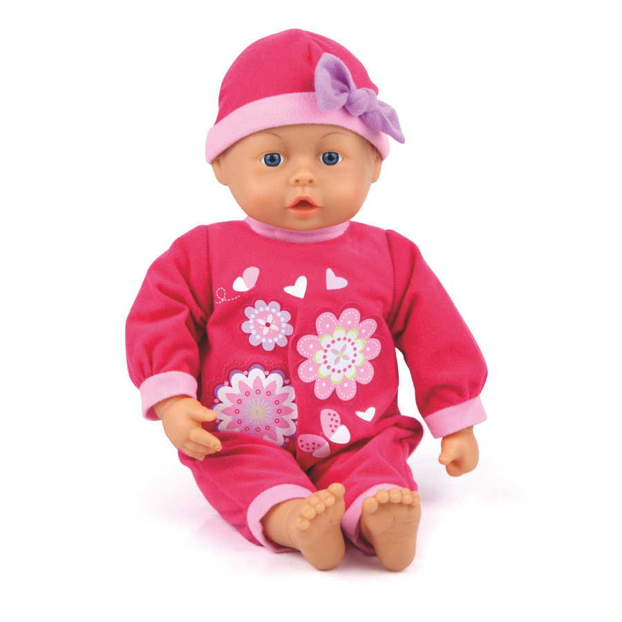 bayer Design Babypuppe My First Baby 38 cm mit Sound pink 9386300