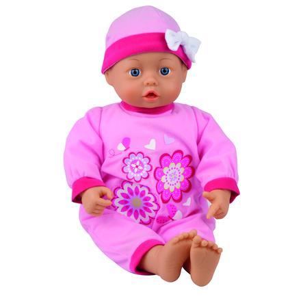 BAYER DESIGN Babydocka med ljud - My First Baby 38 cm (lila) 9386400