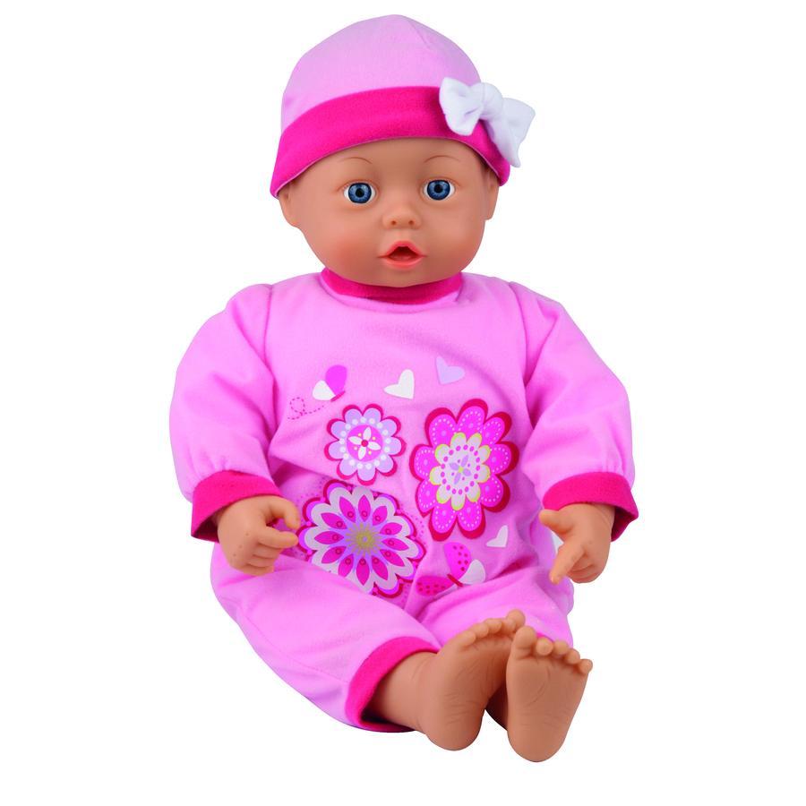 BAYER DESIGN Pop My First Baby 38 cm met geluid rosa 9386400