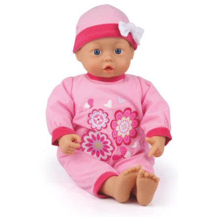 bayer Design Babypuppe First Words Baby 46 cm mit Sound rosa 9466400