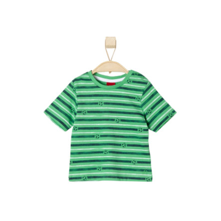 s.OLIVER Boys Tričko green stripes