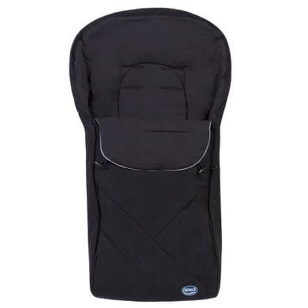 URRA Sommer Fußsack groß mit Logo schwarz/grau