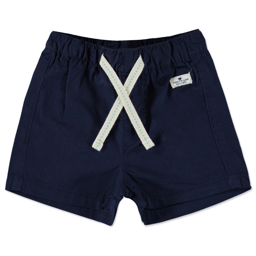TOM TAILOR Boys Pantalones cortos azul oscuro