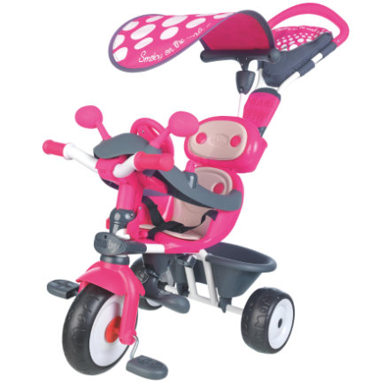 SMOBY Tricycle bébé Driver Confort, rose