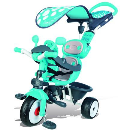 Smoby Trehjuling Baby Driver Komfort - blå