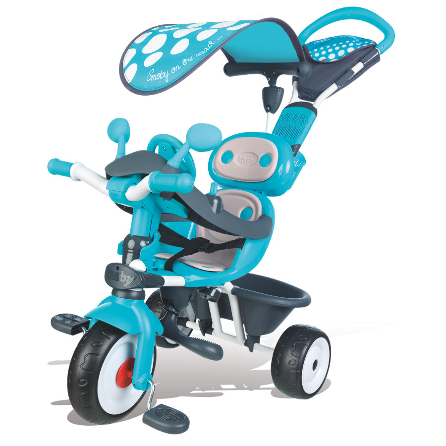 SMOBY Driewieler Baby Driver Comfort blauw