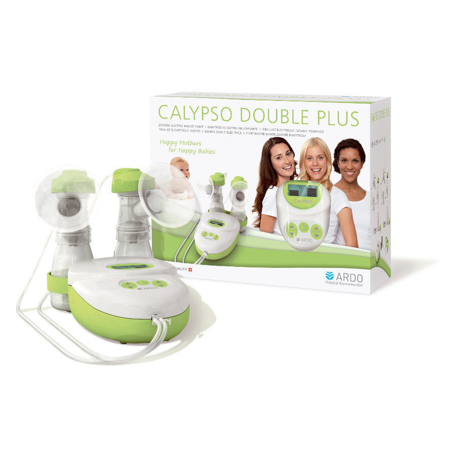 ARDO Doppelmilchpumpe Calypso Double Plus elektrisch
