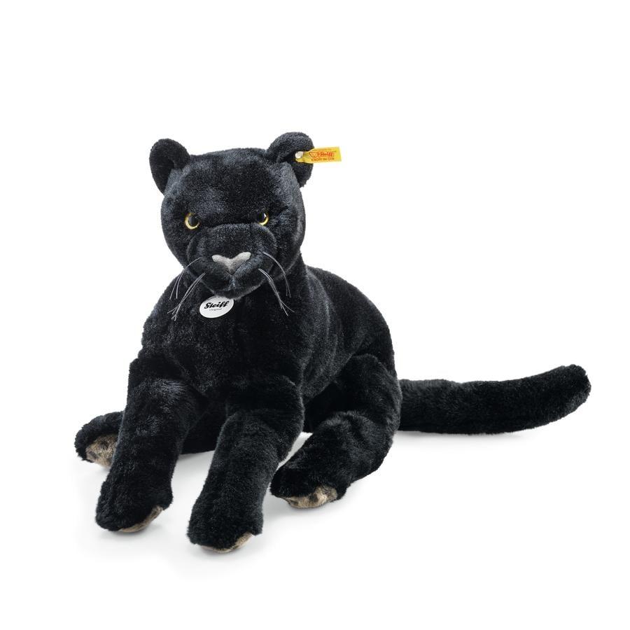 Steiff Nero Panther zwart, 40 cm liggend