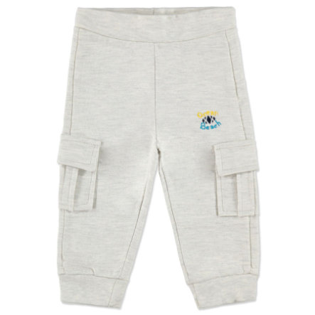 PEBBLE STONE Boys Mini Sweathose grey melange