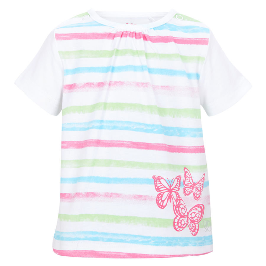 s.OLIVER Girls Baby T-Shirt white