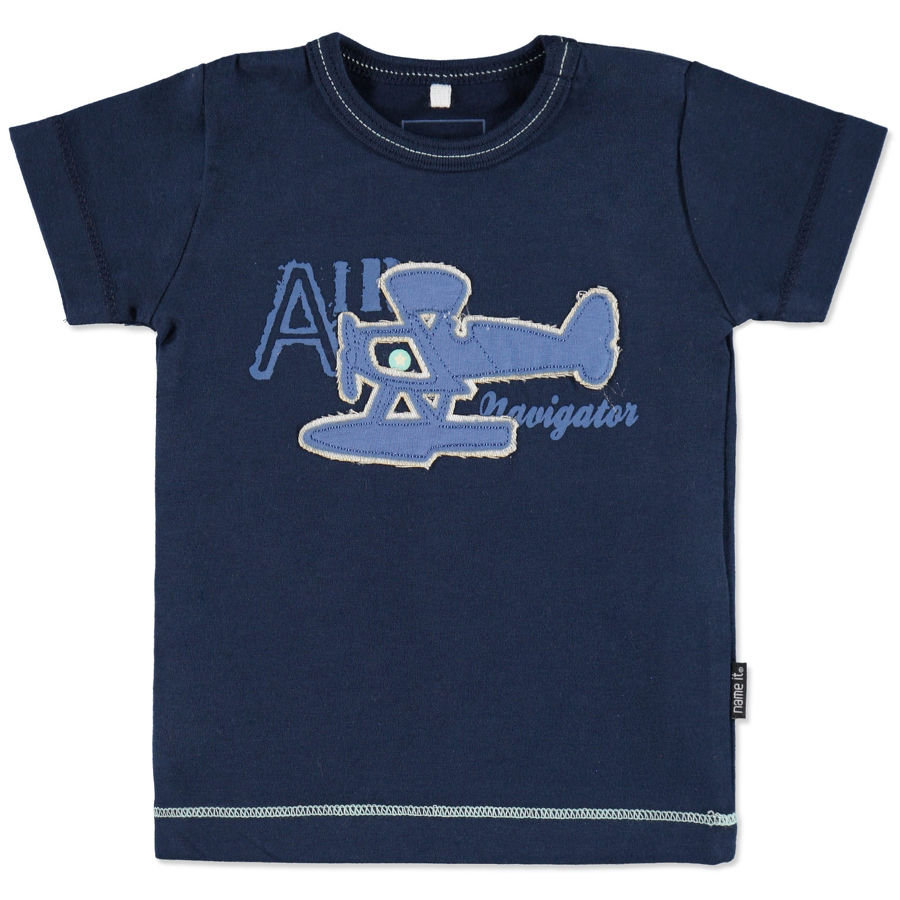 NAME IT Boys T-shirt bébé HUGO, dress blues