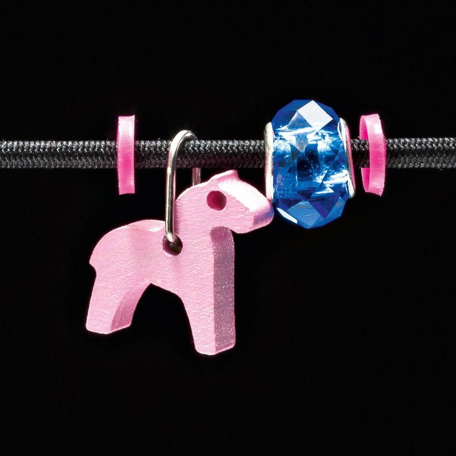 SELECTA Přívěsek, koník, růžový