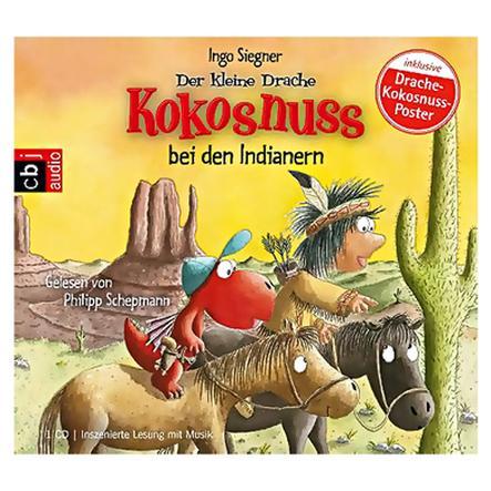 CBJ AUDIO Der kleine Drache Kokosnuss bei den Indianern CD